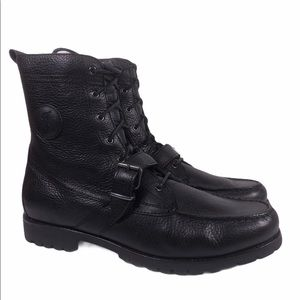 Polo Ralph Lauren Ranger Grain Leather Boots